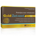 Olimp Gold Żeń-szeń complex, to tabletki dostępne w aptece