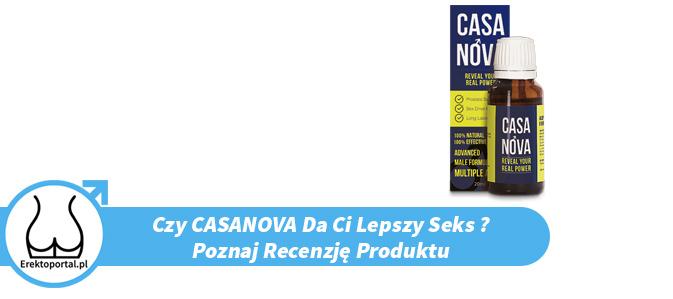 Czy Casanova pomaga mieć lepszy sex? Poznaj opinię z forum, cenę, dowiedz się gdzie kupić.