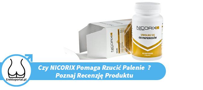 Tabletki Nicorix (Opinie forum, lekarzy, Cena Apteka, Allegro, Ceneo, Sklep, Skład)