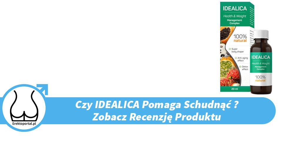 Idealica (Opinie Forum, Skład, Gdzie Kupić - Apteka Czy Allegro, Efekty, Cena)