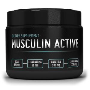 Musculin Active efekty ma bardzo dobre dzięki naturalnym składnikom