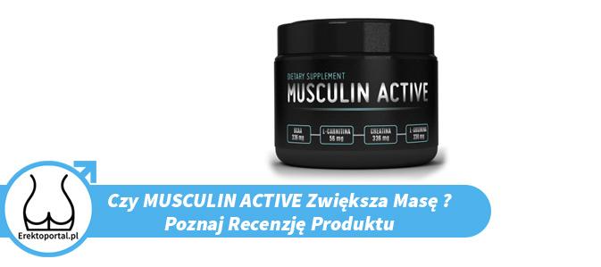 Czy suplement Musculin Active opinie z forum i lekarzy mają pozytywne ? Jaka jest cena i czy apteka to dobre miejsce na zakup produktu